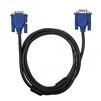 Кабель VGA (m)-VGA (m) 1.8м (Ritmix RCC-071) (черный) - Кабель, переходникКабели, шлейфы<br>Ritmix RCC-071 – кабель для подключения монитора к VGA-разъему видеокарты, 30AWG, CCS, никелированный, длина кабеля 1.8 м.<br>