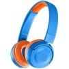 JBL JR300BT (голубой) - НаушникиНаушники<br>JBL JR300BT - Bluetooth-наушники, накладные, время работы 12 ч, чувствительность 85 дБ, импеданс 32 Ом, вес 113 г, складная конструкция.<br>