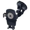 Универсальный автомобильный держатель (Perfeo PH-528) (черный) - Автомобильный держатель для телефонаАвтомобильные держатели для мобильных телефонов<br>Регулировка угла наклона и возможность поворота на 360 градусов позволяет оптимально зафиксировать устройство под любым углом. Присоска диаметром 60 мм надежно удерживает устройства весом до 0.4 кг .<br>