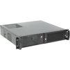 Procase EM238F-B-0 (черный) - Рэковое сетевое хранилищеРэковые сетевые хранилища<br>Корпус Rackmount, без БП, отсеки: внутренние 2х3.5, 2х5.25, интерфейсы 2хUSB 2.0, монтаж в 19 стойку: 2U.<br>