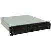 Procase EB205S-B-0 (черный) - Рэковое сетевое хранилищеРэковые сетевые хранилища<br>Корпус Rackmount, без БП, отсеки: внутренние 6х3.5, 2х5.25, интерфейсы 2хUSB 2.0, монтаж в 19 стойку: 2U, размер: 483х91х593 мм.<br>