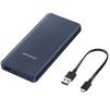 Samsung EB-P3000CNRGRU (темно-синий) - Внешний аккумуляторУниверсальные внешние аккумуляторы<br>Samsung EB-P3000C - внешний аккумулятор, Li-Ion, емкость 10000mAh, 1.5A, 1xUSB. С переходником USB Type-C<br>