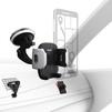Универсальный автомобильный держатель (Hama 00178293) (черный, серебристый) - Автомобильный держатель для телефонаАвтомобильные держатели для мобильных телефонов<br>Для крепление смартфона к лобовому стеклу автомобиля, решетке или приборной панели.<br>