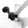 Универсальный автомобильный держатель (Hama Universal 00178334) (черный) - Автомобильный держатель для телефонаАвтомобильные держатели для мобильных телефонов<br>Тип крепления держателя - на стекло, материал - пластик, поворот на 360 градусов.<br>