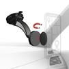 Универсальный автомобильный держатель (Hama Magnet 00178245) (черный) - Автомобильный держатель для телефонаАвтомобильные держатели для мобильных телефонов<br>Магнитный держатель. Металлическая пластина для вставки между смартфоном и чехлом. Благодаря шаровому шарниру устройство можно поворачивать на 360 градусов.<br>