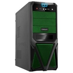 crown cmc-sm161 500w black/green