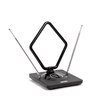 Антенна комнатная Сигнал SAI 975 - ТВ антенна, усилитель ТВ сигнала, антенна для дачиТВ антенны, усилители ТВ сигнала, антенна для дачи<br>Тип установки: комнатная, тип усиления антенны: активная, коэффициент усиления: 15-30dB, диапазон приема: ДМВ, МВ, DVB T, DVB T2, частота: МВ (87,5-230)MHz / ДМВ (470-862)MHz.<br>