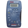 Мультиметр цифровой PEAKMETER PM320 - Вспомогательное оборудованиеВспомогательное оборудование<br>Компактный цифровой мультиметр предназначен для легкого, с высокой точностью измерения переменного и постоянного напряжения, переменного и постоянного тока, сопротивления, емкости и частоты, имеющий функции: проверка диодов и прозвонка цепей.<br>