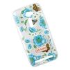 Силиконовый чехол-накладка для Asus Zenfone 2 (0L-00027785) (синие цветочки и бабочки) - Чехол для телефонаЧехлы для мобильных телефонов<br>Чехол обеспечит надежную защиту Вашего мобильного устройства от повреждений, загрязнений и других нежелательных воздействий.<br>