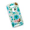 Силиконовый чехол-накладка для Asus Zenfone 2 Lazer ZE500KL (0L-00027788) (синие цветочки и бабочки) - Чехол для телефонаЧехлы для мобильных телефонов<br>Чехол обеспечит надежную защиту Вашего мобильного устройства от повреждений, загрязнений и других нежелательных воздействий.<br>