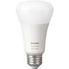 Philips Hue White and Color A19 LED Bulb 3rd Generation (464487) - ЛампочкаЛампочки<br>Philips Hue White and Color A19 LED Bulb 3rd Generation - светодиодная, форма лампы: гриб, мощность: 10 Вт, световой поток: 800 Lm, срок службы: 25000 ч, напряжение сети: 220-240 В, совместимость: iOS, Android. Поддержка приложения Apple HomeKit. Комфортный сон, белое и цветное освещение, 16 миллионов цветов, дистанционное управление.<br>