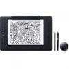 Wacom Intuos Pro Paper PTH-660P-R#PAINTER2018 (черный) - Графический планшетГрафические планшеты<br>Рабочая область планшета: 224x148 мм , перьевой ввод, сенсорный ввод, уровни чувствительности пера: 8192, разрешение сенсорного ввода: 5080 lpi, количество клавиш ExpressKeys: 8, интерфейс: USB, Bluetooth.<br>