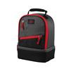 Thermos Berkley Dual Lunch 539366 (черный, красный) - Сумка холодильникСумки-холодильники<br>Сумка-термос, объемом 4.5л. Внешняя ткань сумки выполнена из устойчивого к загрязнениям материала и легка в уходе, внутренняя поверхность гигиенична и непромокаема.<br>