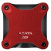 ADATA SD600 512GB (ASD600-512GU31-CRD) (красный) - Жесткие дискиЖесткие диски<br>Внешний, USB 3.1, SSD (твердотельный), 512 Гб.<br>