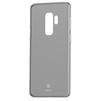 Чехол-накладка для Samsung Galaxy S9 (Baseus Wing Case WISAS9-01) (прозрачный черный) - Чехол для телефонаЧехлы для мобильных телефонов<br>Чехол обеспечит надежную защиту Вашего мобильного устройства от повреждений, загрязнений и других нежелательных воздействий.<br>