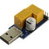 Сторожевой таймер Espada ESP-UWD1 - АксессуарРазное<br>Аппаратный таймер для автоматической перезагрузки устройств с USB в случае зависания (используется в фермах для майнинга).<br>