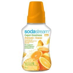 ����� SodaStream Goodness ��������-������ 750 �� (�� 6 � �������)