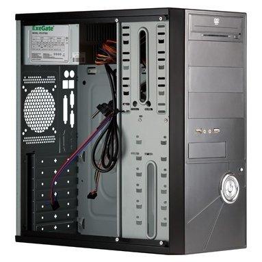 Корпус ExeGate CP-507 Black БП CP500 188999 / 260941