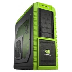 cooler master haf x nvidia edition (nv-942-kkn1) black/green