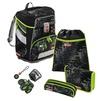 Ранец Step By Step SpACE Green Tractor - Ранец, рюкзак, сумка, папкаРанцы, рюкзаки, сумки<br>Изолированный внешний карман. Основное отделение на магнитном замке способно вместить документы и книги форматов до А4.<br>