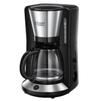 RUSSELL HOBBS 24010-56 - Кофеварка, кофемашинаКофеварки и кофемашины<br>Корпус из нержавеющей стали. Новая технология заваривания WhirlTech для максимального вкуса и аромата готового кофе. В комплекте мерная ложечка на 1 порцию. Индикатор уровня воды. Стеклянный кувшин 1.25 л.<br>