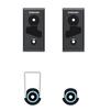 Кронштейн для телевизоров 32-65 (Samsung WMN550M/RU) (серый) - Подставка, кронштейнПодставки и кронштейны<br>Кронштейн, фиксированный, мин. диагональ - 32 , макс. диагональ - 65 , максимальный вес оборудования - 200 кг, настенный, поддержка крепления VESA 400х400.<br>