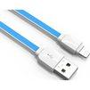 Кабель USB-Lightning 1м (LDNIO XS-07) (синий) - Usb, hdmi кабель, переходникUSB-, HDMI-кабели, переходники<br>Кабель для синхронизации и зарядки устройства, разъемы: USB-Lightning. Изготовлен из высококачественных материалов. Длина кабеля 1 м.<br>