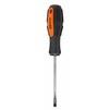 Отвертка TDM Алмаз (черно-оранжевый) - ОтверткаОтвертки<br>Материал стержня: хром-ванадиевая сталь (CR-V), намагниченный наконечник, материал ручки: ПВХ и мягкая резина, шлиц: SL6.0, длина жала: 100 мм.<br>