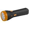 Трофи TA12 (черно-оранжевый) - ФонарьФонари<br>Компактный аккумуляторный светодиодный фонарь, 9 светодиодов в головном фонаре, встроенное радио FM-диапазона, аккумулятор 4V 900mAh, складная евровилка, 6 часов работы без подзарядки.<br>