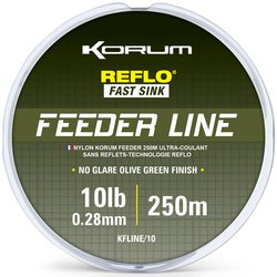 Леска KORUM FEEDER LINE MONO - 250m / 0,28mm / 4.53kg