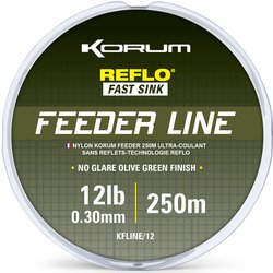 Леска KORUM FEEDER LINE MONO - 250m / 0,30mm / 5.44kg