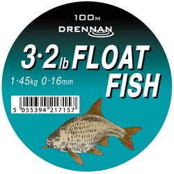 Леска DRENNAN FLOAT FISH Mono - 100m / 0.16mm / 1.45kg