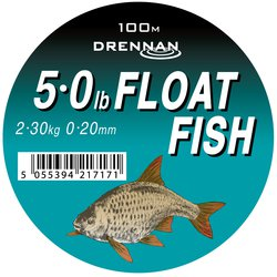 Леска DRENNAN FLOAT FISH Mono - 100m / 0.20mm / 2.25kg