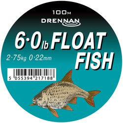Леска DRENNAN FLOAT FISH Mono - 100m / 0.22mm / 2.75kg