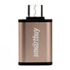Адаптер USB-A 3.0 - USB Type-C (Smartbuy SBR-OTG05-GD) (золотистый) - Usb, hdmi кабель, переходникUSB-, HDMI-кабели, переходники<br>Этот переходник позволяет подключать электронные устройства с интерфейсом USB Type-C, такие как: HD-DVD диски, принтеры, мобильные жесткие диски и Blu-ray, к ПК или ноутбуку.<br>
