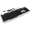 Smartbuy ONE 333 (SBK-333U-WK) (белый, черный) - КлавиатураКлавиатуры<br>Мультимедиа клавиатура c подсветкой, бело-чёрная представляет собой прекрасный образец удачного сочетания невысокой цены и достойного качества. Кроме того она имеет привлекательный дизайн и высокую функциональность.<br>