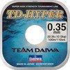 Леска DAIWA TD Hyper Tournament 0,14мм 100м (10шт.) - ЛескаЛеска рыболовная<br>Сверхпрочная леска<br>» Материал: Высококачественный нейлон<br>» Защита от ультрафиолетовых лучей<br>» Размотка 100 м<br>» Высокое японское качество<br>
