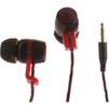 Continent HCW-1003 (черный, красный) - НаушникиНаушники<br>Continent HCW-1003 - наушники, внутриканальные, проводные, miniJack 3.5мм, импеданс 26 Ом, 20 – 20000 Гц, чувствительность 101 дБ, диаметр динамика 10мм.<br>
