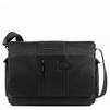 Piquadro BRIEF CA1592BR/N - Чемодан, сумка, рюкзакЧемоданы, сумки, рюкзаки<br>Мужская сумка мессенджер изготовлена из высокопрочного нейлона и мелкозернистой телячьей кожи с использованием качественной металлической фурнитуры.<br>