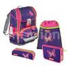 Ранец Step By Step Light2 Shiny Butterfly - Ранец, рюкзак, сумка, папкаРанцы, рюкзаки, сумки<br>Удобный школьный ранец с внутренним объемом в 18 л. Просторный основной отсек позволяет размещать в нем тяжелые и большие учебники.<br>