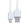 Кабель USB-microUSB 1м (KS-is KS-324W) (белый) - Usb, hdmi кабель, переходникUSB-, HDMI-кабели, переходники<br>Кабель USB-microUSB предназначен для подзарядки всех устройств на Android, Microsoft Windows Phone.<br>