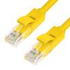 Патч-корд UTP кат. 6, RJ45 1м (Greenconnect GCR-50722) (желтый) - КабельСетевые аксессуары<br>Кабель предназначен для подключения Cat6 RJ45 Ethernet LAN сетевого кабеля. Оболочка кабеля обладает низким дымовыделением (LS) и нулевым содержанием галогенов (ZH) в продуктах горения.<br>