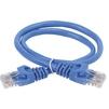 Патч-корд UTP кат.5е 0.5м (ITK PC03-C5EU-05M) (синий) - КабельСетевые аксессуары<br>Патч-корд UTP (неэкранированный), категория 5е, длина кабеля 0.5м.<br>