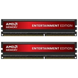 AMD Entertainment Edition DDR3 1600 DIMM 16GB Kit (8GB x 2) with Heat Shield RTL