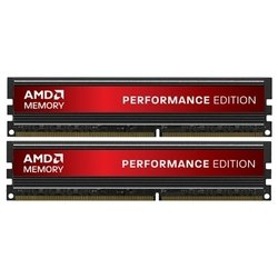 AMD Performance Edition DDR3 1333 DIMM 4GB Kit (2GB x 2) with Heat Shield