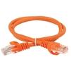 Патч-корд UTP кат.5e 1м (ITK PC07-C5EU-1M) (оранжевый) - КабельСетевые аксессуары<br>Неэкранированный патч-корд, категория 5е, длина кабеля 1м.<br>
