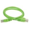 Патч-корд UTP кат.5e 1м (ITK PC02-C5EU-1M) (зеленый) - КабельСетевые аксессуары<br>Неэкранированный патч-корд, категория 5е, длина кабеля 1м.<br>