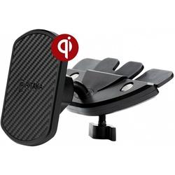 Автомобильный держатель Pitaka MagMount Qi CD CMS001Q (черный)
