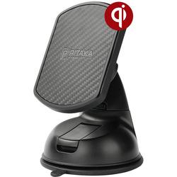 Автомобильный держатель Pitaka MagMount Qi Suction CMS001Q (черный)