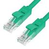 Патч-корд UTP кат. 6, RJ45 1м (Greenconnect GCR-50727) (зеленый) - КабельСетевые аксессуары<br>Кабель предназначен для подключения Cat6 RJ45 Ethernet LAN сетевого кабеля. Подходит для подключения PC, Xbox, PS3, ноутбук к широкополосному маршрутизатору<br>